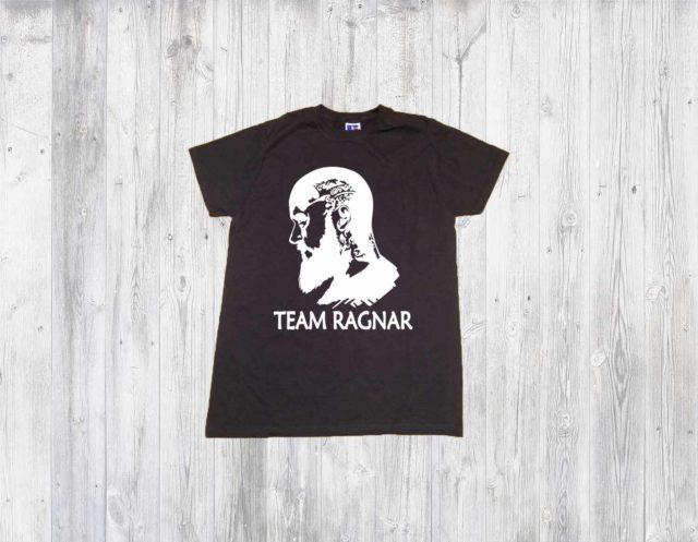 Team Ragnar Vikings Mens Shirt T-shirts With Sayings Norsemen Graphic Tees Clothing Gift Print Viking Lovers