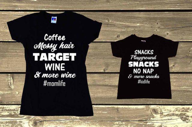 COFFEE MESSY HAIR TARGET WINE MOMLIFE